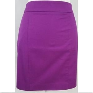Ann Taylor Women's Skirt 8P pencil purple Madison